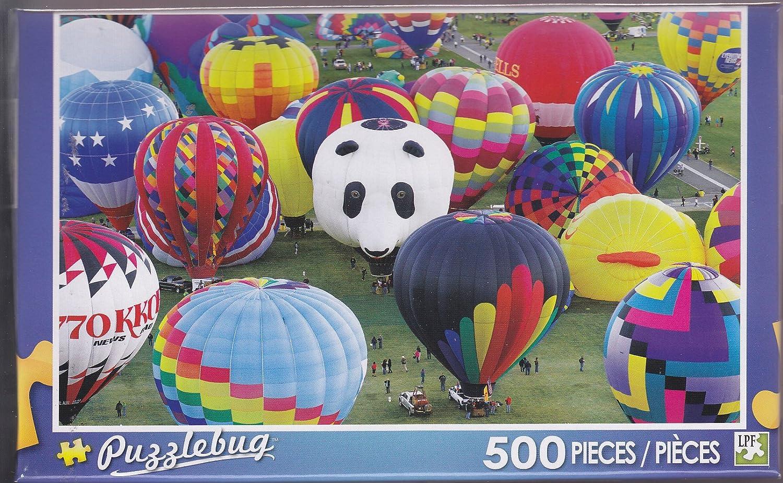 Entrega gratuita y rápida disponible. Puzzlebug 500  Colorful Hot Hot Hot Air Balloons by LPF  presentando toda la última moda de la calle