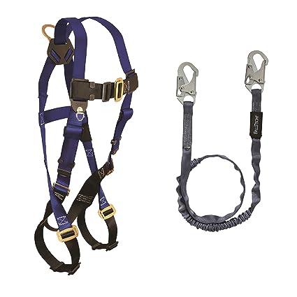 813aQzasP6L._SX425_ falltech fall protection harness lanyard combo (7015 harness w 8259