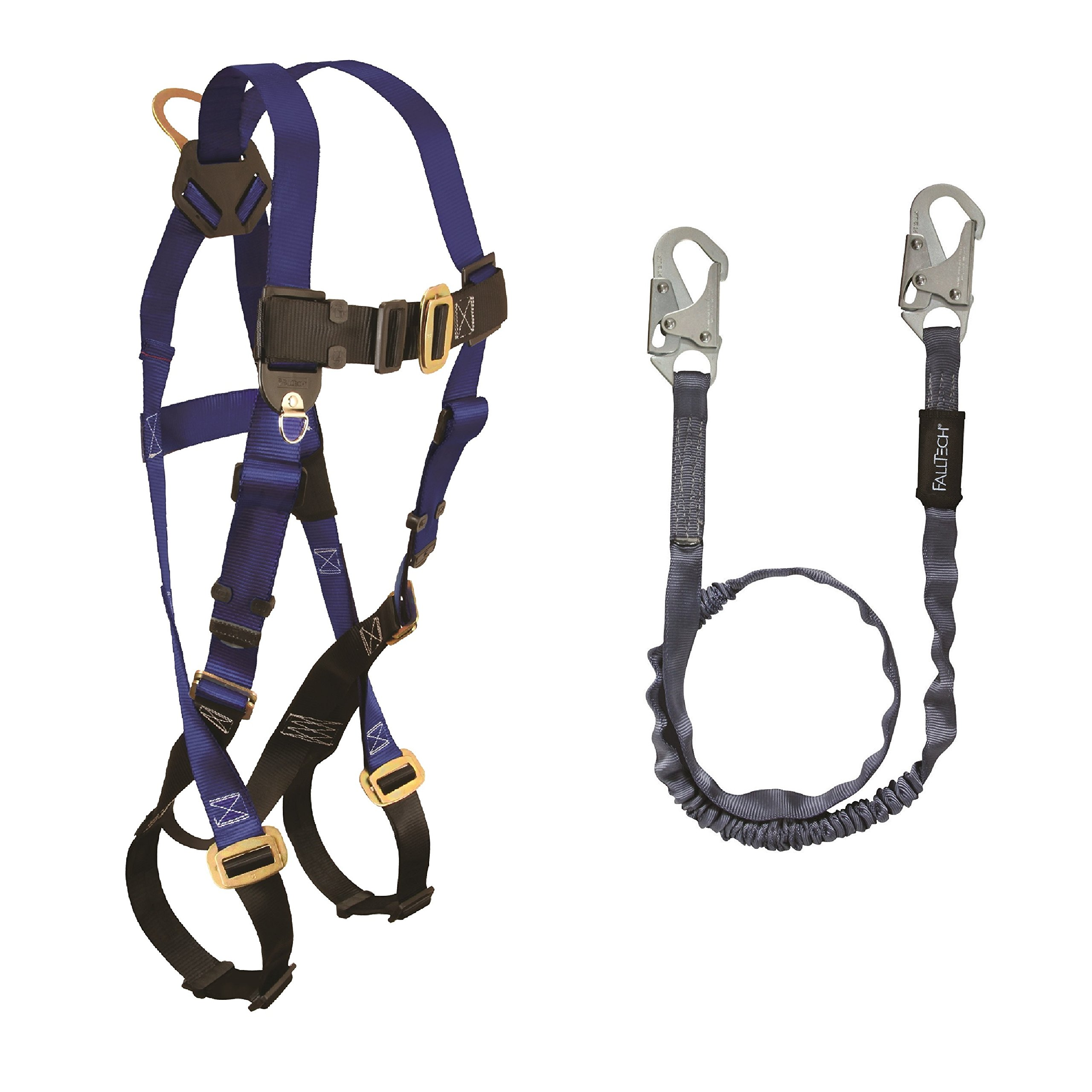 FALLTECH FALL PROTECTION HARNESS/LANYARD COMBO (7015 HARNESS W/ 8259 LANYARD) by FallTech (Image #1)