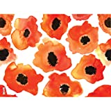 Tervis 1243378 Watercolor Poppy Tumbler with Wrap