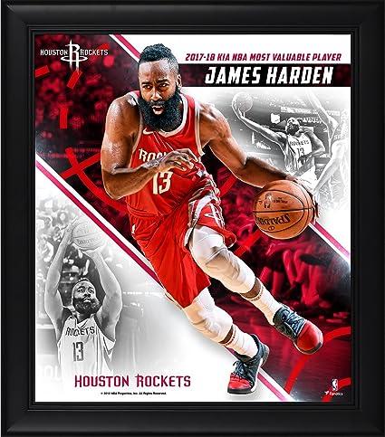 c5be7958553b James Harden Houston Rockets Framed 15 quot  x 17 quot  2018 NBA MVP  Collage - NBA
