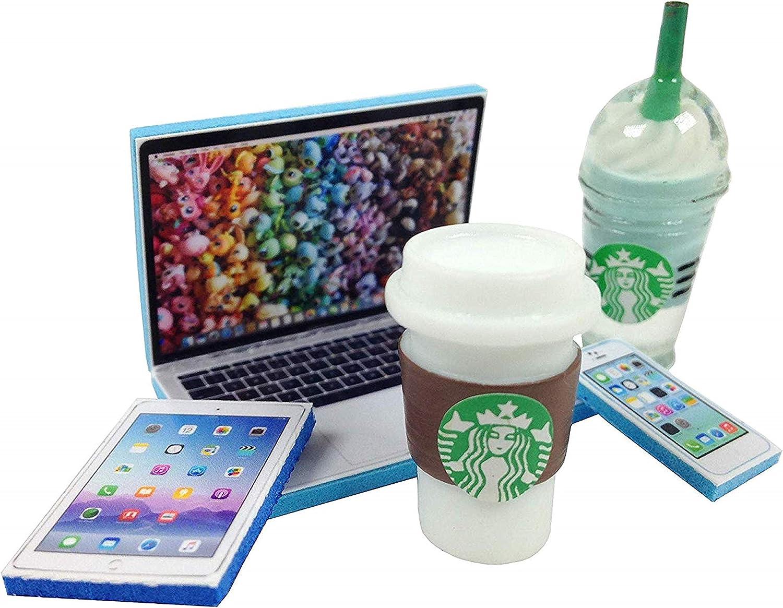 happyblockbuilder Littlest Pet Shop Accessories LPS Craft Sets Gift Bag Foam for Tablet, Phone Pets NOT Included (5 pc)