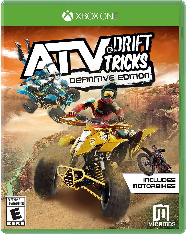 Amazon.com: ATV Drift & Tricks Definitive Edition - Xbox One: Maximum Games LLC: Video Games