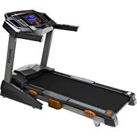 Durafit Heavy hike 2.5HP (Peak 5.0 HP) Motorized Foldable Treadmill with Auto-Incline -Black