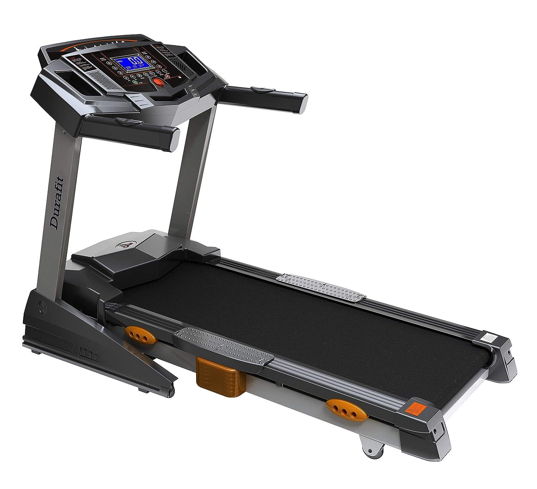 Durafit Heavy Hike 2.5 HP (Peak 5.0 HP) Motorized Foldable Treadmill