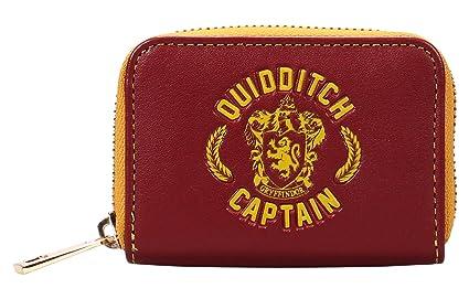 Monedero de Harry Potter - Capitán de Quidditch: Amazon.es ...