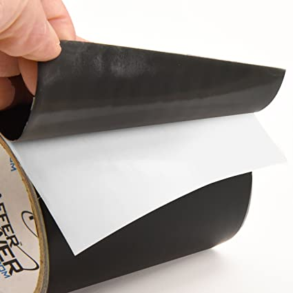 Patch & Shield Power Tape Black - All Weather Patch Tape | Stretchy Sealing  Tape for Roofing, Waterproof Tape for Pipes | Patch Holes & Cracks | Butyl