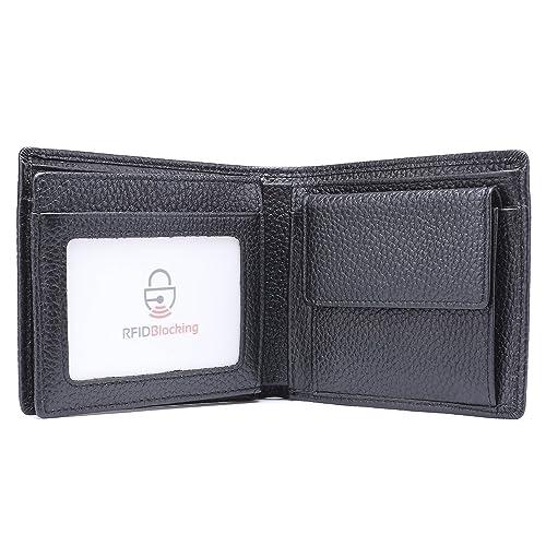 Amazon.com: Billetera con bloqueo RFID para hombre ...