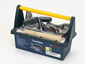Theo Klein - Bosch Tool Box with Ixolino Premium Toys For Kids Ages 3 Years & Up