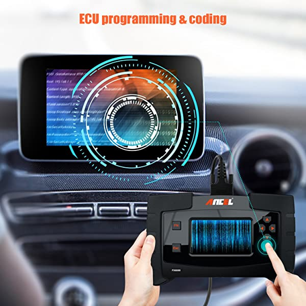 The FX6000 comes with full ECU coding and programming capabilities.