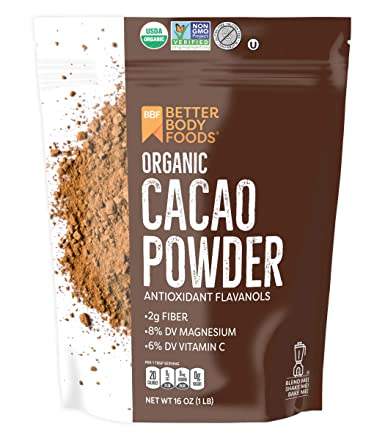 Amazon.com : Organic Cacao Powder, Non-GMO, Gluten-Free Superfood ...