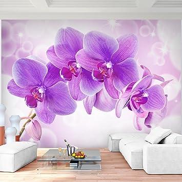 Fototapete Orchidee Lila Violett Vlies Wand Tapete Wohnzimmer ...