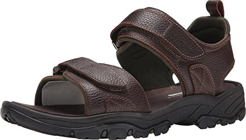 Rockport Men's Rocklake Backstrap Sandal,Brown/Brown,7 ...