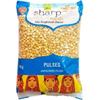 Sharp Foods Unpolished Pulses - Chana Dal, 1Kg