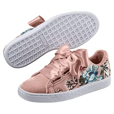 Emb Beige Women's Hyper 6 Ukindia40 Eu36611602 Basket Wn Sneakers Heart S Peach Puma 5 5LARj34qc