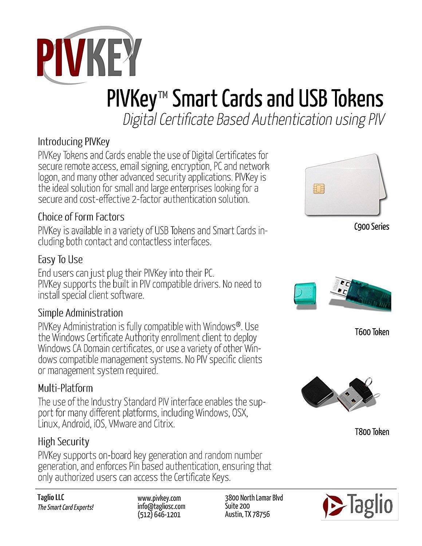 Amazon pivkey c910 pki smart card computers accessories xflitez Gallery