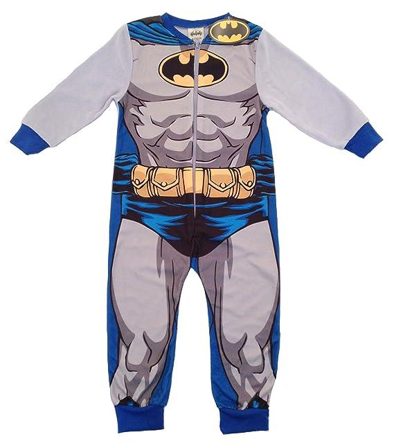 DC COMICS BATMAN - Pijama de una pieza - para niño Multicolor multicolor 3/4