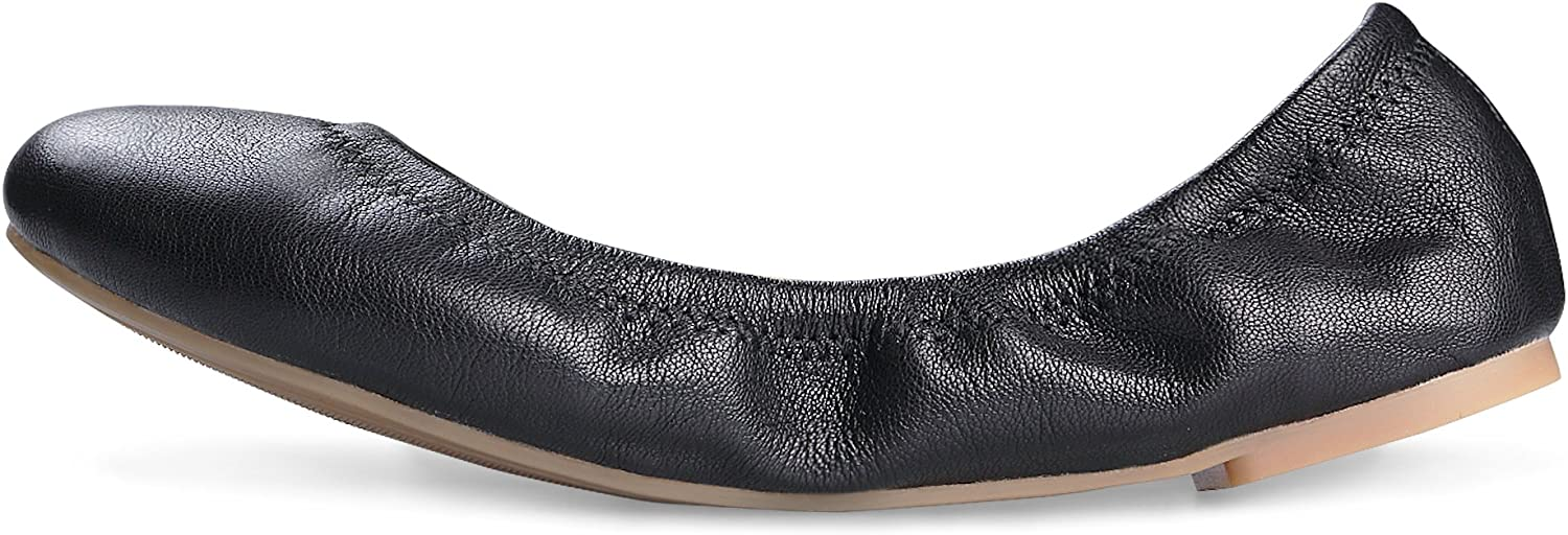 Xielong Womens Hush Puppies Leather Closed Toe Casual Slide Sandals