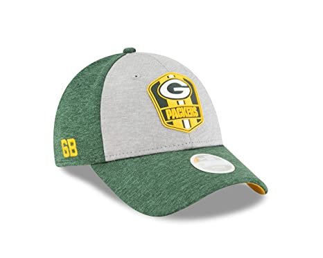 new concept c17c1 8e3a6 Image Unavailable. Image not available for. Color  New Era Green Bay  Packers Official Sideline Away 39THIRTY ...