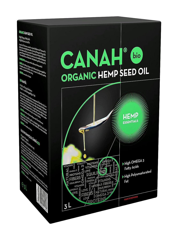 Aceite de semilla de cáñamo Canah (3 litros)