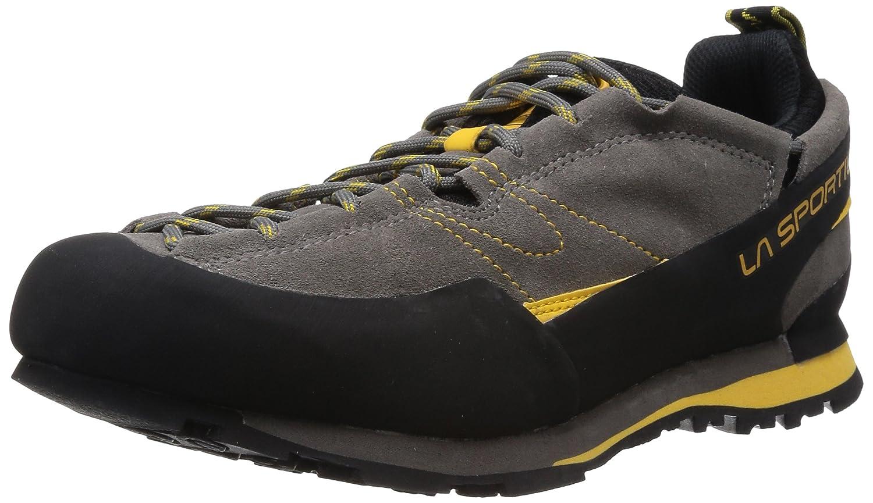 La Sportiva Unisex-Erwachsene Boulder X Grau/Gelb Trekking-& Wanderhalbschuhe, grau, 45,5 EU