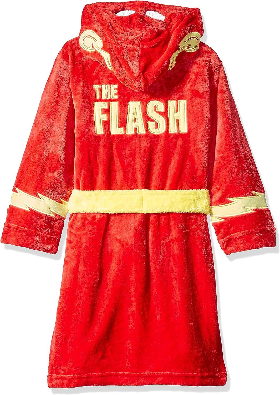 DC Comics Boys Superhero Plush Velvet Fleece Robe