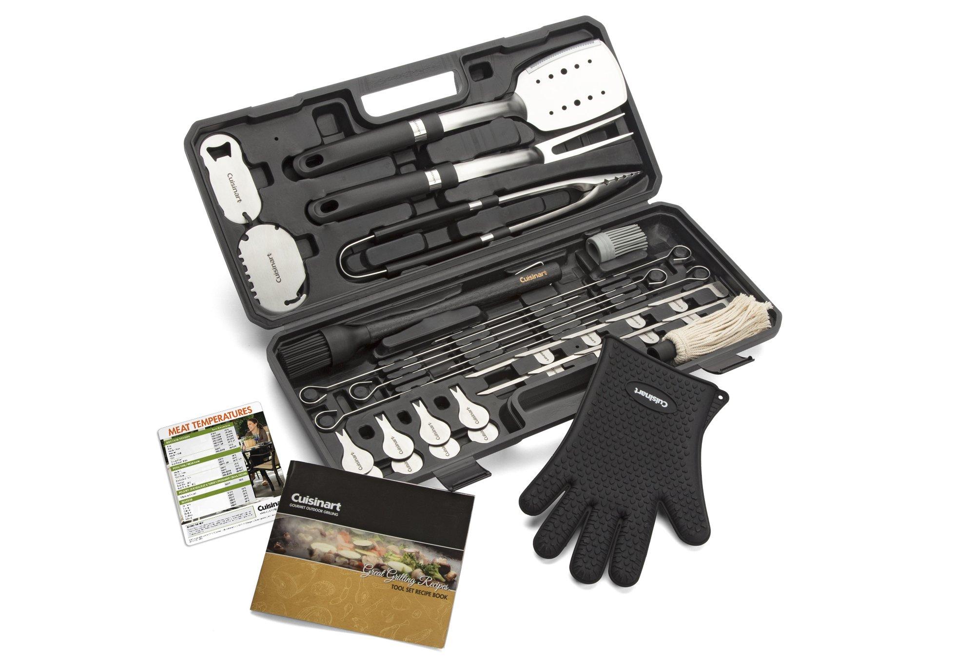 Cuisinart CGS-8036 Backyard BBQ Tool Set, 36-Piece by Cuisinart
