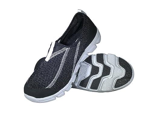 08169cdc603 Viakix Mens Water Shoes - Comfortable Lightweight Mesh Aqua Sneakers - Swim