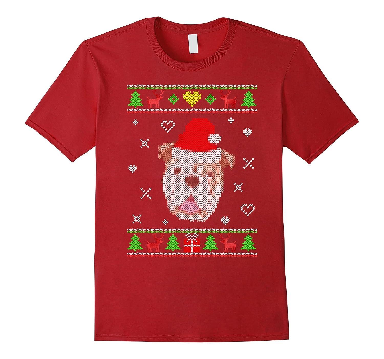 English Bulldog Ugly Christmas Sweater Shirt Gift Dog Lovers-ANZ
