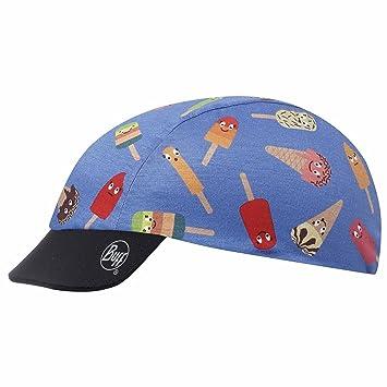 Original Buff Gelatto Pink Blue - Cap Coolmax para niños de 3-9 años, diseño Estampado: Amazon.es: Zapatos y complementos
