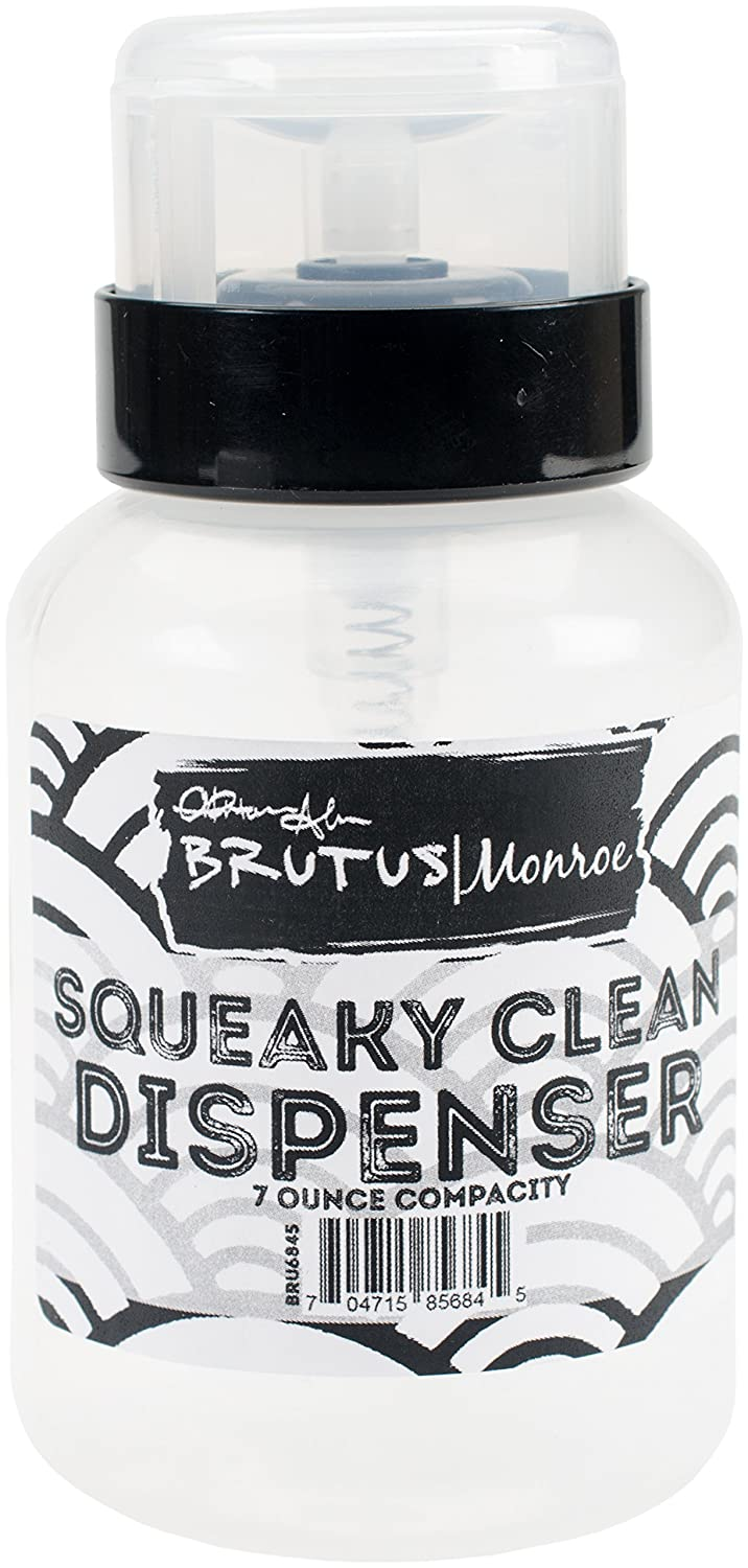 Brutus Monroe BRU6845 Squeaky Clean Dispenser 7oz Empty
