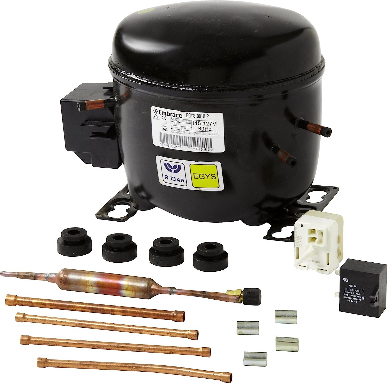 Whirlpool W10309990 Compressor, BLACK