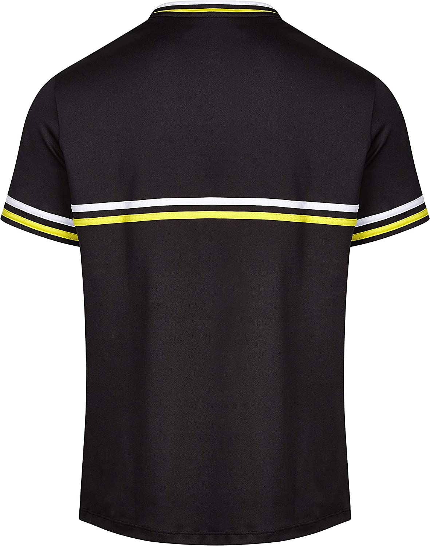 Baseline Tennis: Horizontal BL - S//S Polyester Black Adult
