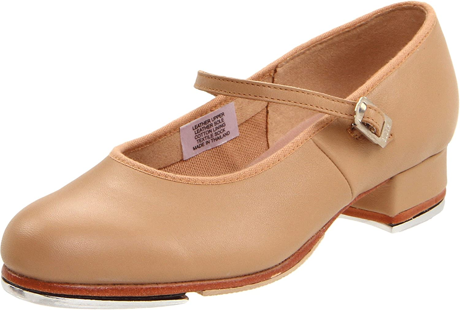 Bloch Dance Women's Tap On Tap Shoe B0041HYYN2 8.5 M US|Tan