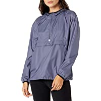 Amazon Essentials Chaqueta Cortavientos Plegable Fashion-Sweatshirts Mujer