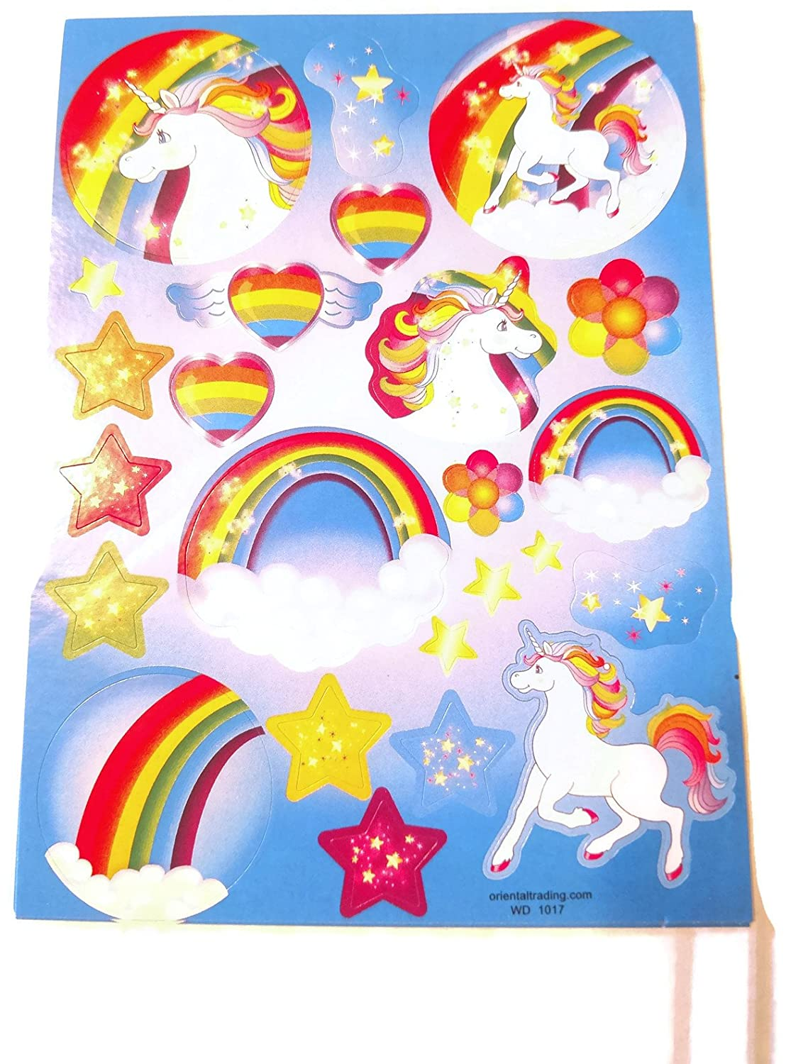 6-Unicorn Notepads 6-Unicorn Sticker Sheets Unicorn Poop Birthday Party Favors For Kids Gift Pack Unicorn Party Supplies 24 Count Bundle Includes : 6 Unicorn Poop 6-Unicorn Pencils