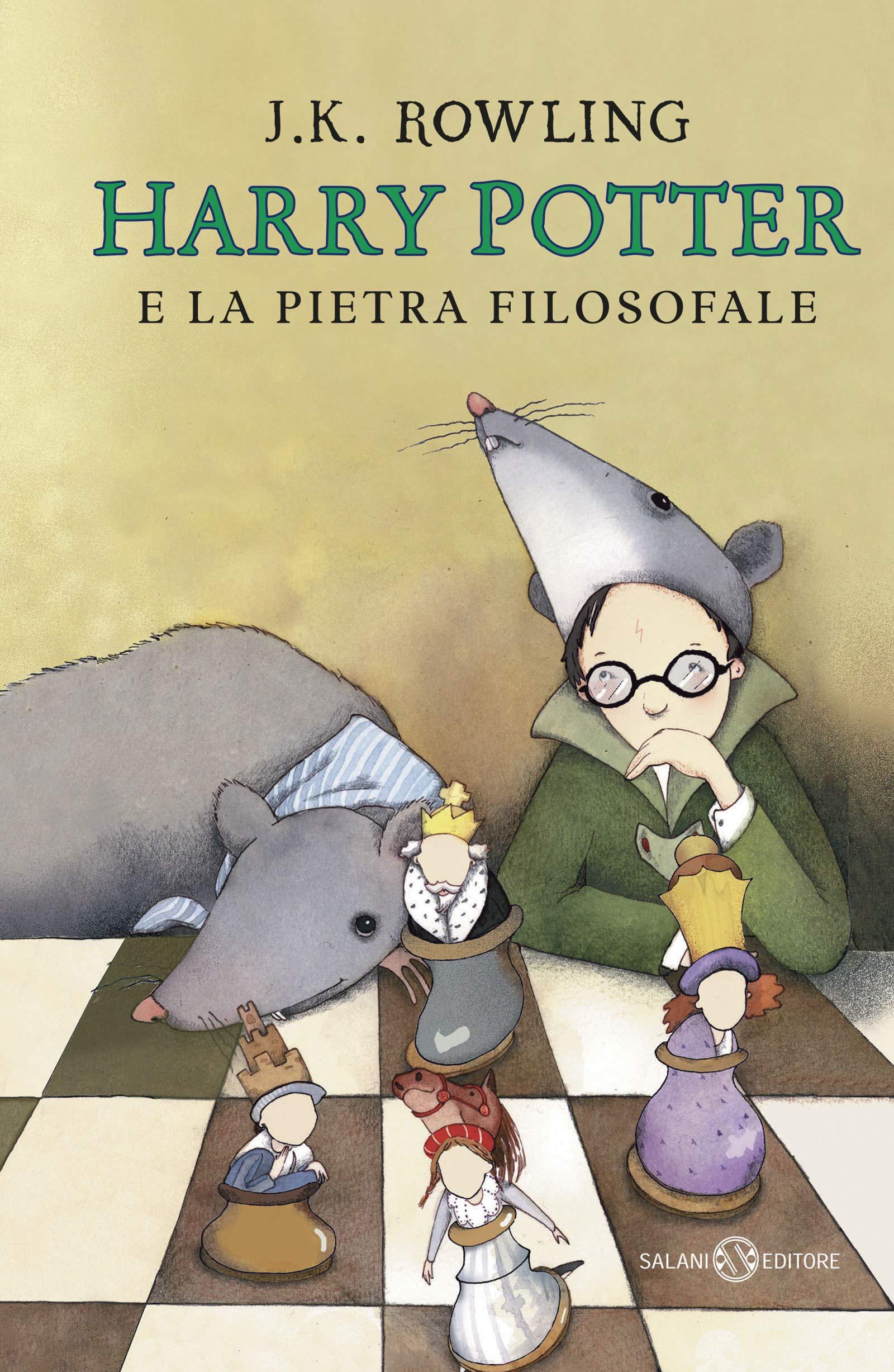 Harry Potter e la pietra filosofale: 1: Amazon.it: Rowling, J. K. ...