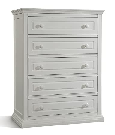 Amazon Com Storkcraft Concord 5 Drawer Dresser With Tufflinkembly White Baby