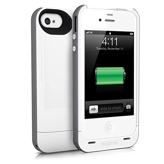the latest 7cd43 e92ce mophie juice pack Plus for iPhone 4/4S (2,100mAh) - Grey