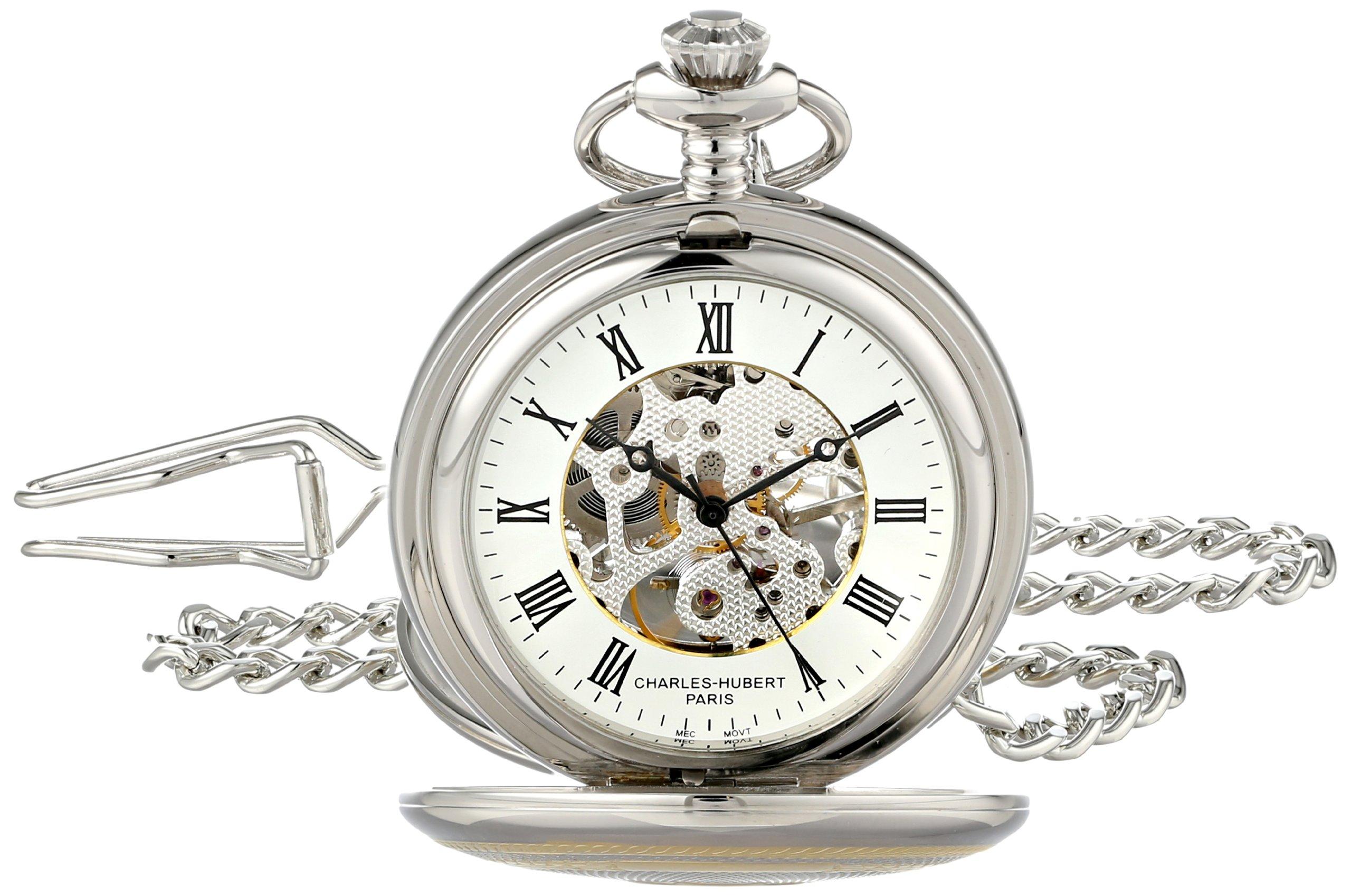 Charles-Hubert, Paris 3819 Two-Tone Mechanical Pocket Watch by CHARLES-HUBERT PARIS (Image #1)