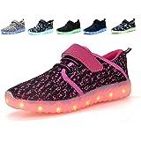 Denater LED Light Up Shoes Kids Girls Boys...