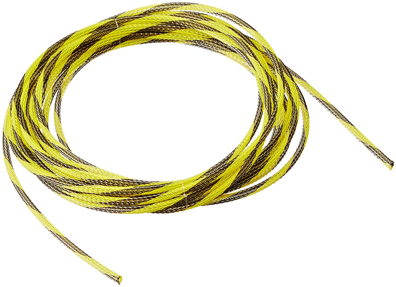 Keep It Clean 13187 Wire Loom 1//8 Safety Strip Yellow//Black Ultra Wrap Wire Loom 10 Feet