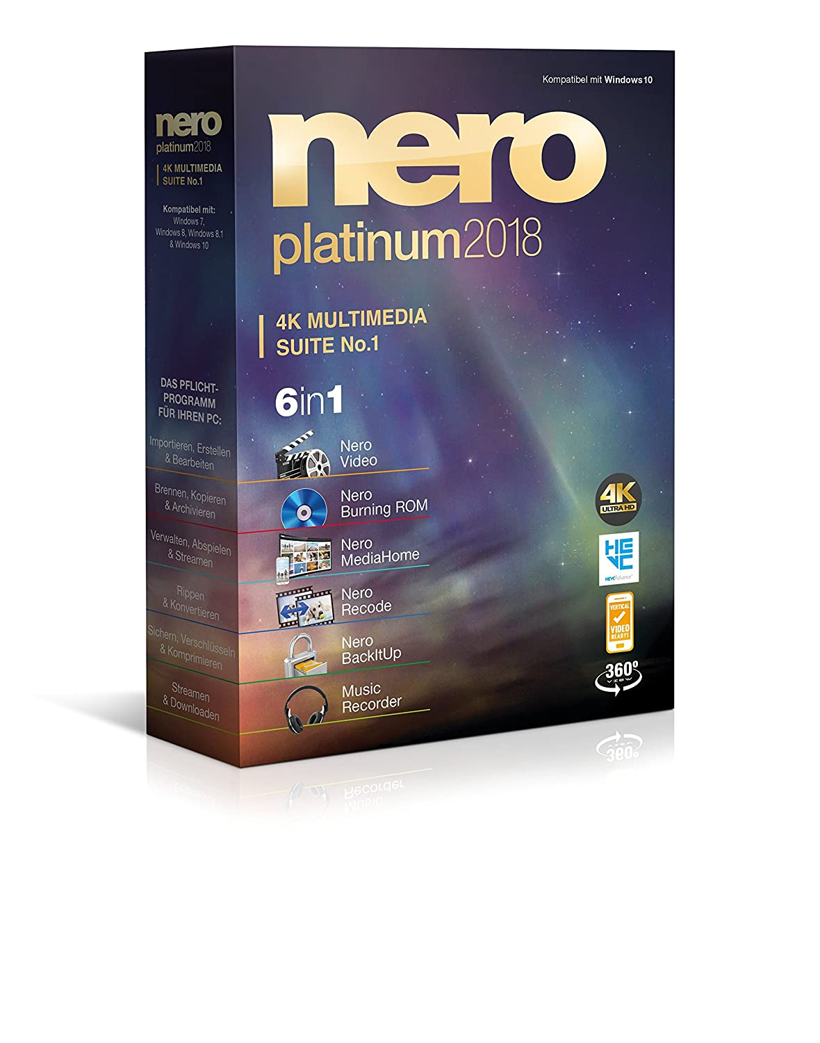 Nero Platinum 2018: Amazon.de: Software