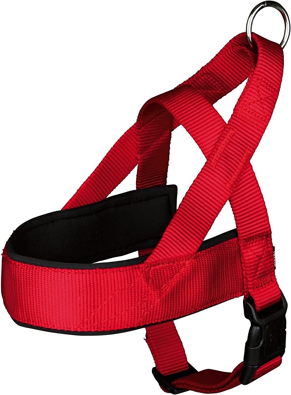 Trixie 20541 Premium Comfort Harness L-XL 68-88 cm//50 mm Black