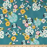 Art Gallery Emmy Grace Voile Floral Floats Fresh Fabric By The Yard