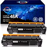 Uniwork Compatible Toner Cartridge Replacement for HP 48A CF248A use for LaserJet Pro M15w, LaserJet Pro M29w, MFP M28w…