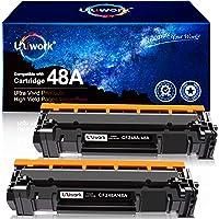 Uniwork Compatible Toner Cartridge Replacement for HP 48A CF248A use for Laserjet Pro M15w M29w M30w M31w MFP M28w M28a…