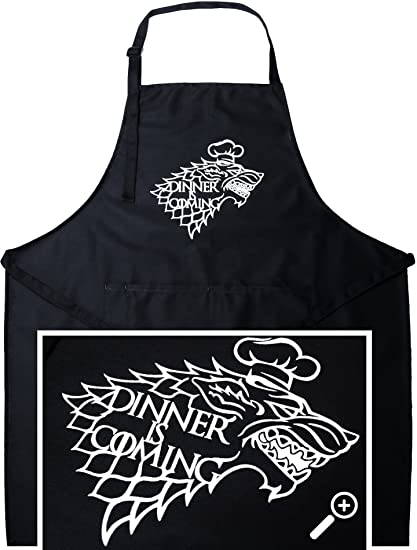 StarkWorks Game Of Thrones Apron With House Stark Sigil By Kitchen Apron  For Game Of Thrones