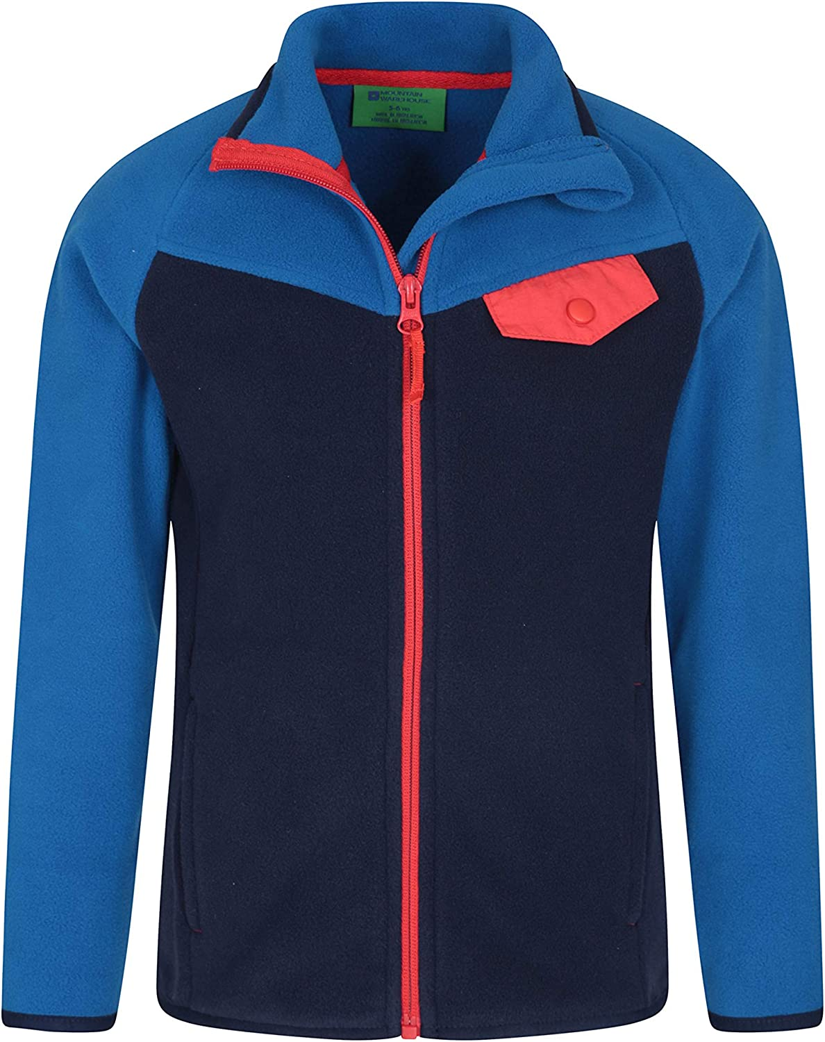 Mountain Warehouse Snowdonia Kids Fleece Jacket Winter Pullover