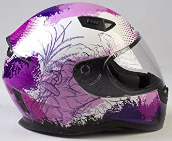Casco Shiro Sh881 Enjoy Rosa (XS)